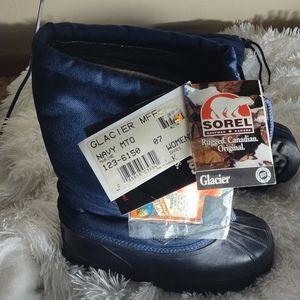 NWT Sorel womens navy boots